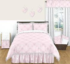 girls bedding sets full house pink and gray erfly within comforter ideas 5 baby crib set