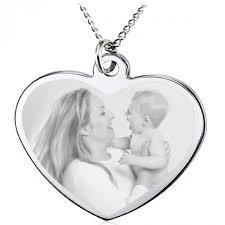 custom engraved heart picture pendant personalized heart shaped pendants custom womenâ s