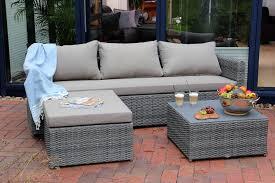 Loungemöbel Outdoor Mit Hohem Tisch