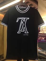 Dhgate Designer Shirts 2019 Brands Summer Designers Shirt Men S Casual Short Sleeve T Shirt Cotton Top T Shirt Print Men S Hip Hop T Shirt