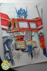 optimus prime aux markers by golgoth71