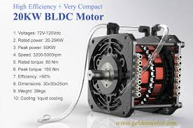 brushless motor bldc motor electric car motor 20kw electric car motor 20kw