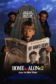 home alone theatrical poster. Wonderful Alone Home Alone 2 Lost In New York 1992 Inside Theatrical Poster