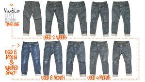 Nudie Slim Jim Size Chart Nudie Slim Jim Jeans Org Dry Broken Twill