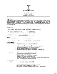 Fresh Resume For Server Resumes Top Waiter And Waitress Samples
