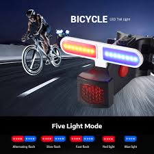 Usb Helmet Light Usb Rechargeable Front Rear Bicycle Light Lithium Battery Led Bike Taillight Cycling Helmet Light Lamp Mount Bicycle Accessories