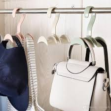 hanging closet organizer. 2018 Hanging Closet Organizer Hooks Hanger Holder For Purses, Handbags, Satchels, Backpacks, Ties, Belts, Fashion Jewelry Accessories From Saveach,