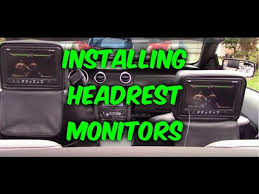how to install wiring headrest monitors to dvd player game how to install wiring headrest monitors to dvd player game system