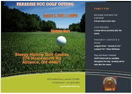 Golf Outing Paradise Church