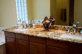 dark granite countertop installed in phoenix az