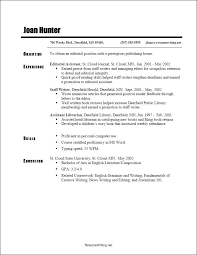 Resume Books Chronological Sample Latest Format Functional Template