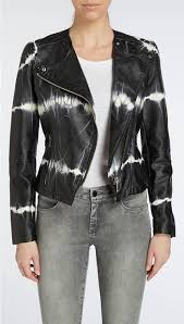 blanknyc tie dye vegan leather jacket