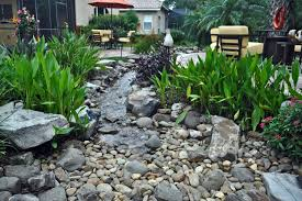 Small Picture Waterfall Stream with Dry Creek Tropical Garden Tampa by