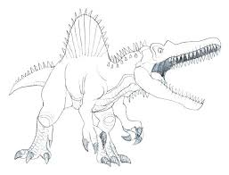 Spinosaurus Coloring Pages Printable Luxury Of Dinosaur Coloring