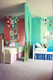 18 Shared Bedroom Ideas for Kids | Lil Blue Boo. Boy and girl shared room  with divider via Life Made Lovely | Home | Pinterest | Shared rooms, ...
