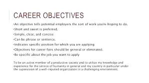 Objective Resume Samples Interesting Career Objective Resume Example Social Work Objectives Resume