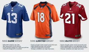 Difference What Jerseys Is Nfl The In