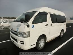 TOYOTA Hiace Van for Sale Used Stock List | BE FORWARD Japanese Used ...