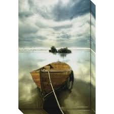 the old boat canvas wall art on wood boat wall art with buy boat wall art from bed bath beyond