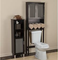 Black Over The Toilet Cabinet Over The Toilet Storage Cabinet Lowes Best Home Furniture Decoration