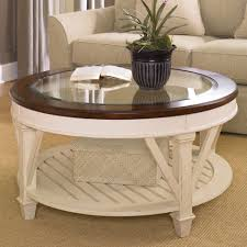 coffee tables rustic round coffee table marble and wood white
