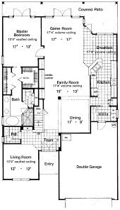 Terrific Two Story House Plan   HD   st Floor Master Suite    Floor Plan