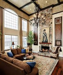 10 fascinating high ceiling living rooms with chandelier best
