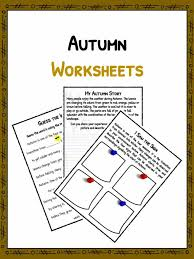Autumn Facts & Information Worksheets | PDF Lesson Study Material