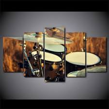size 1 20x35cmx2pcs 20x45cmx2pcs 20x55cmx1pc 8x14x2 8x18x2 8x22inch  on metal drum set wall art with 5 pieces country drum set canvas art artistic pod