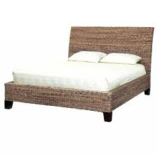 Rattan Headboards For King Size Beds Peacock Wicker Headboard Queen Used