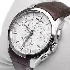 tissot couturier t035 617 16 031 00 mens watch chronograph brown tissot couturier t035 617 16 031 00 mens watch chronograph brown leather new