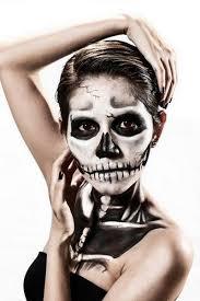 makeup inspirations female corpse body painting idea dark eyes