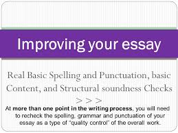 real basic spelling and punctuation basic content and structural  1 real basic spelling and punctuation