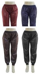 faux leather joggers 24 pcs