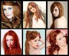 Прически к рыжим волосам