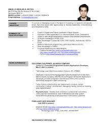 Resume Online Free Formal Lettere Resume Format Best Template Character Online Free 41