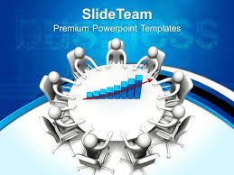 business and strategy templates round table meeting graphic ppt slides powerpoint template presentation sample of ppt presentation presentation