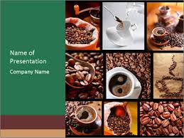 photo collage template powerpoint coffee shop collage powerpoint template backgrounds google slides