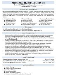 Respiratory Therapist Job Description Awesome Respiratory Therapist Resume Sample Work Pinterest Respiratory