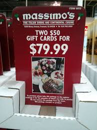 massimo s spin a yarn steakhouse strizzi s discount gift cards gift card massimos costco