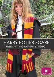 Harry Potter Scarf Knitting Pattern Cool Design