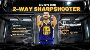 NBA 2K21 KLAY THOMPSON BUILD IS A TWO ...
