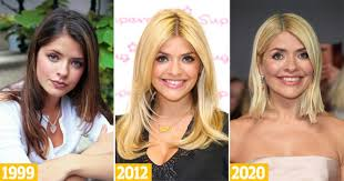 Holly willoughby has presented a number of tv shows alongside phillip schofield such as dancing on ice and this morning. Holly Willoughby S Hair Transformations Through The Years Metro News