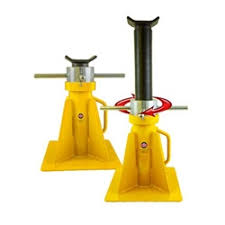 ESCO 20 Ton Screw Style Jack Stand 26.5 in Height Unique Truck Equipment - 26.5\