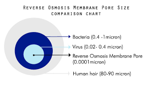Membrane Pore Size Chart What Is Reverse Osmosis And How Does It Work