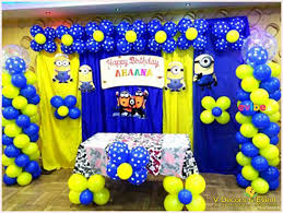 Minions Themed Decorations