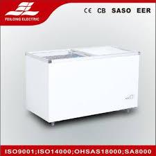 350l glass door chest freezer sd sc 350q