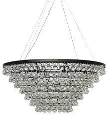 celeste tapered glass drop crystal chandelier black contemporary chandelier drop crystals