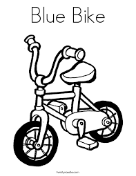 Small Picture Bike Coloring Pages Twisty Noodle