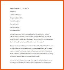announcement format 6 death announcement template iwsp5